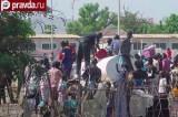 Лагерь беженцев в Южном Судане. Кадр pravda.ru