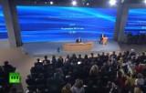 Большая пресс-конференция президента России Владимира Путина. Кадр RT