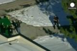 США - стрельба в школе города Сентенниал. Кадр Euronews