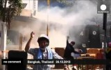 Уличные войны в Бангкоке, столице Таиланда. Кадр Euronews