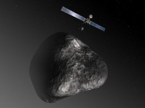 Зонд Розетта должен приблизиться к ядру кометы Чурюмова-Герасименко