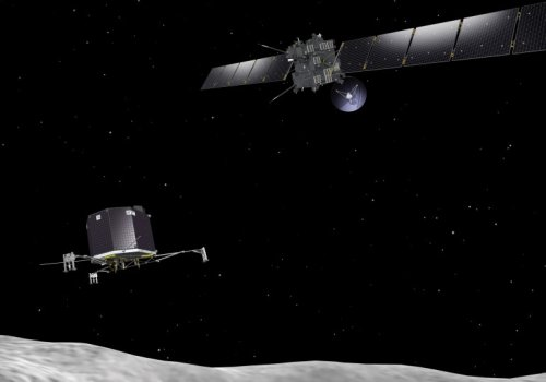 Зонд Розетта спустит на ядро кометы аппарат Philae