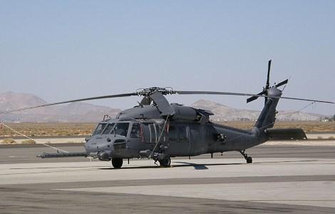 Вертолёт Sikorsky HH-60 американской армии. Фото: CC-BY-SA 3.0 Alan Radecki / Wikipedia