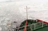 Среди льдов. Кадр NTDTV