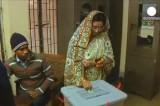 Выборы в Бангладеш. Кадр Euronews