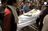 Похороны жертвы маньяков в Индии. Кадр Euronews