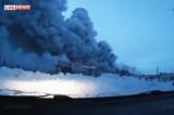 Пожар в торговом центре в Кемерово. Кадр LifeNews