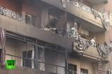 Повреждённый взрывом жилой дом в Бейруте, Ливан. Кадр RT