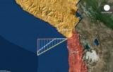 Территориальный спор между Чили и Перу разрешён. Кадр Euronews / DigitalGlobe