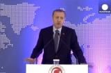 Премьер-министр Турции Реджеп Тайип Эрдоган. Кадр Euronews