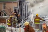 Тушение пожара в доме престарелых в Квебеке, Канада. Кадр NTDTV