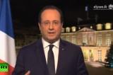 Президент Франции Франсуа Олланд. Кадр RT