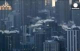 Замороженный Нью-Йорк. Кадр Euronews