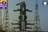 Запуск первой индийской ракеты с криогенным двигателем. Кадр Euronews