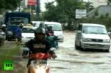 Наводнение в Джакарте. Кадр RT