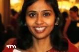 Заместитель генерального консула Индии в США Девиани Хобрагаде. Кадр RTVi