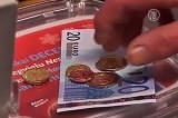 Евро в Латвии. Кадр NTDTV