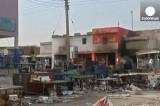 Брошенные огневые позиции в Южном Судане. Кадр Euronews