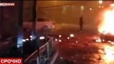 Теракт в Махачкале на улице Богатырёва. Кадр LifeNews