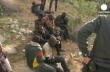 Нелегальные мигранты в Мелилье, Испания. Кадр Euronews