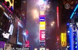 Новый 2014 год в Нью-Йорке. Кадр NTDTV