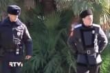 Полицейский и казак в Сочи. Кадр RTVi