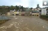 Наводнение в Кемперле, Франция. Кадр Euronews
