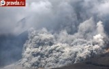 Извержение вулкана Синабунг на острове Суматра. Кадр pravda.ru