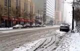 Снег и обледенение в Нью-Йорке. Кадр NTDTV