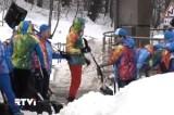 Уборка снега в Сочи. Кадр RTVi