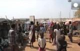 Лагерь беженцев в Джубе в Южном Судане. Кадр Euronews