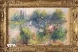 Украденная из музея Балтимора картина Ренуара. Кадр RTVi