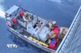 Датские моряки вывезли компоненты химического оружия из Сирии. Кадр RTVi