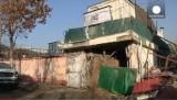 "Ресторан ""Ливанская Таверна"" в Кабуле, атакованный террористами. Кадр Euronews"