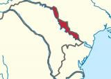 Приднестровье на карте из Википедии