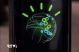 Логотип суперкомпьютера Watson. Кадр RTVi