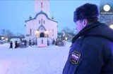 Воскресенский храм Южно-Сахалинска. Кадр Euronews