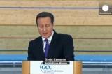 Дэвид Кэмерон призывает шотландцев не отделяться. Кадр Euronews