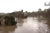 Наводнение в Риме. Кадр Euronews