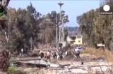 Эвакуация из Хомса. Кадр Euronews