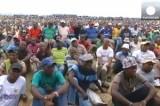 Забастовка шахтёров в ЮАР. Кадр Euronews