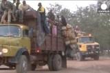 Мусульмане уезжают из ЦАР. Кадр Euronews