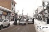 Снег в Тегеране. Кадр Euronews