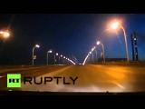 Видеорегистратор зафиксировал падение метеорита в Кемеровской области