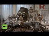 Механик из Сибири создал двухметрового робота