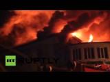 Старейший кинотеатр Киева сожгли во время показа фильма о трансвеститах