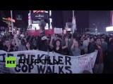 Жители Нью-Йорка поддержали протестующих в Фергюсоне