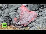 На Гавайях лава продолжает подступать к домам местных жителей