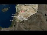 Налет израильских ВВС на окрестности Дамаска