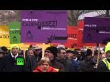 Во Франции протестуют владельцы малого бизнеса